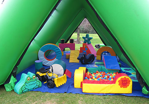 inflatable mobile venue hire