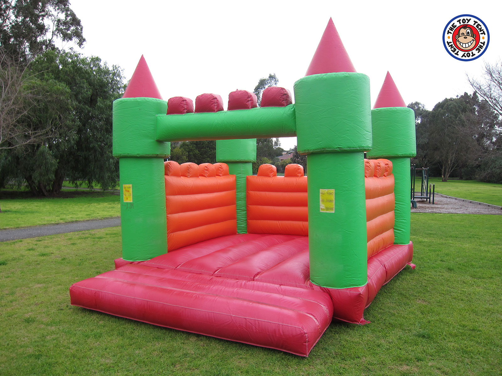 hire jumping castle banner